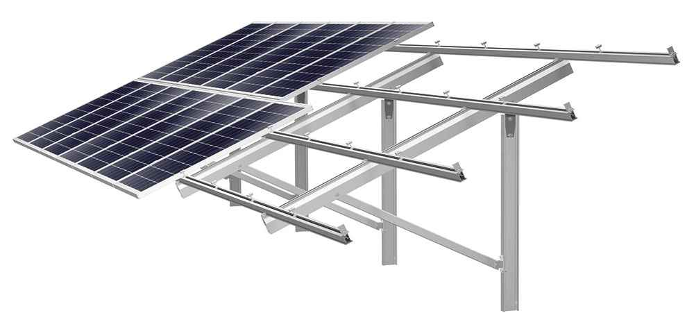 solar mounting structure panel price in india