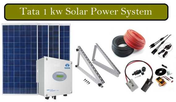 Tata Solar Panel Price In India Sept 2020 Solar Experts